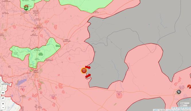 Quân đội Syria càn quét IS trên vùng sa mạc phía đông tỉnh Homs (video) ảnh 1