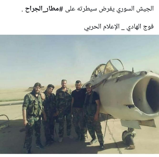 """""""Hổ Syria"""" đập tan IS, chiếm sân bay quân sự đông Aleppo ảnh 1"""
