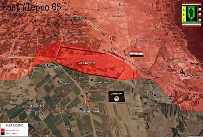"""""""Hổ Syria"""" đánh bật IS mưu tái chiếm sân bay chiến lược ở đông Aleppo ảnh 1"""