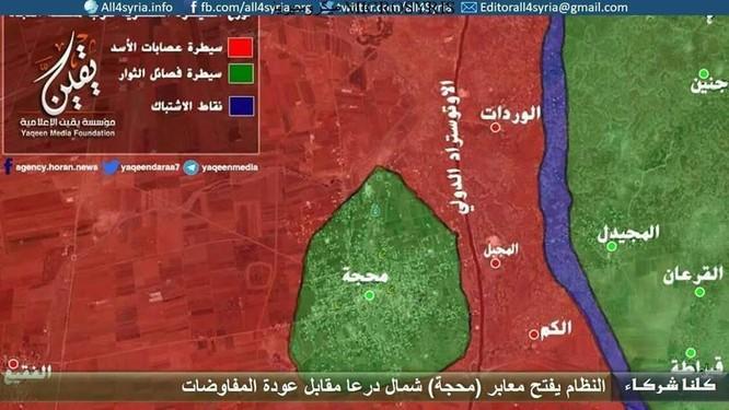 Cả ngàn phiến quân Syria quy hàng chính phủ, giải giáp tại chiến trường Daraa ảnh 1