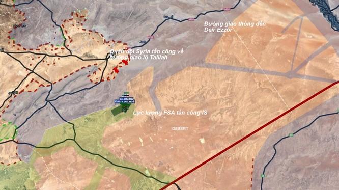 Chiến sự Palmyra: Quân đội Syria tiếp tục tấn công IS ảnh 1