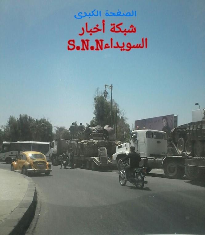 Quân đội Syria tấn công phiến quân ở biên giới Iraq (video) ảnh 1