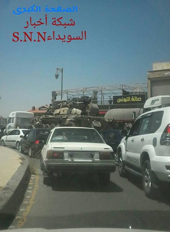 Quân đội Syria tấn công phiến quân ở biên giới Iraq (video) ảnh 3