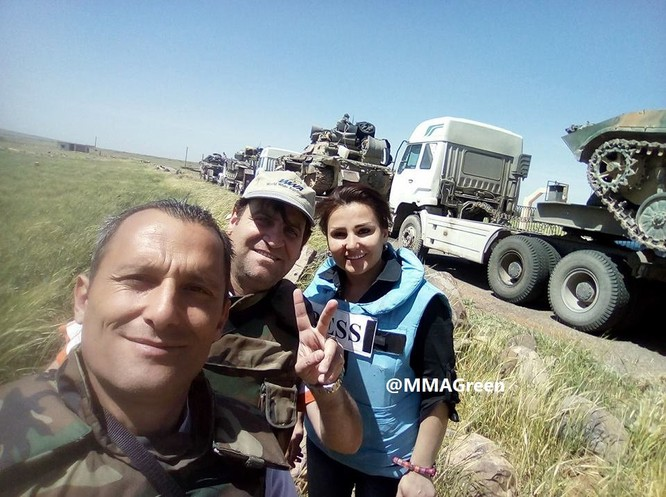Quân đội Syria tấn công phiến quân ở biên giới Iraq (video) ảnh 4