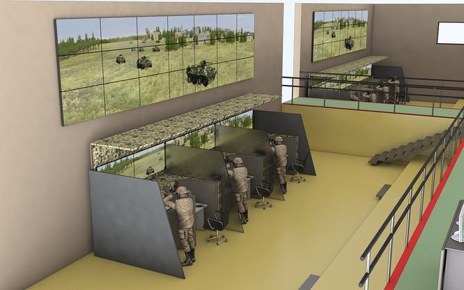 """Nga phát triển chiến trường không gian ảo """"Combat"""" đến cấp lữ đoàn ảnh 1"""