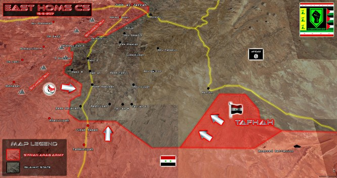 Chiến sự Palmyra: Quân đội Syria chiếm cứ điểm, diệt hàng loạt phiến quân IS ảnh 1