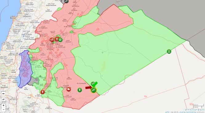 Quân đội Syria tấn công dữ dội phiến quân được Mỹ hậu thuẫn ảnh 1