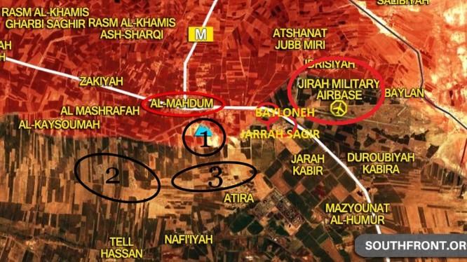 """""""Hổ Syria"""" đè bẹp phiến quân, chiếm liên tiếp 3 cứ địa IS ở đông Aleppo ảnh 1"""