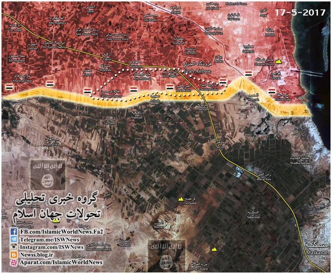 """""""Hổ Syria"""" ồ ạt tấn công, đánh chiếm 9 cứ điểm IS ở đông Aleppo ảnh 1"""