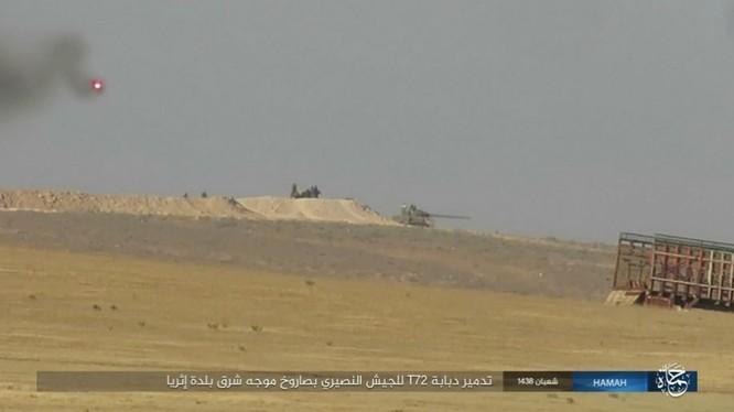 Quân đội Syria trút bão lửa huỷ diệt IS trên chiến trường Palmyra (video) ảnh 3