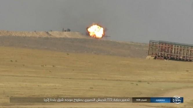 Quân đội Syria trút bão lửa huỷ diệt IS trên chiến trường Palmyra (video) ảnh 4