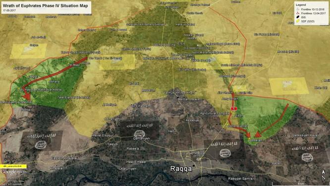 Chiến sự Syria: SDF liên tiếp đánh chiếm cứ địa IS, tiến sát sào huyệt Raqqa ảnh 1