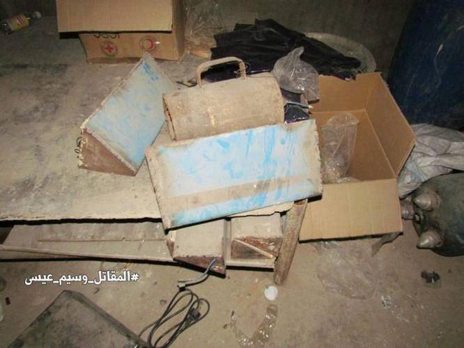 Chiến sự Syria: Phát hiện căn cứ ngầm khổng lồ của phiến quân ở ngoại vi Damascus ảnh 2