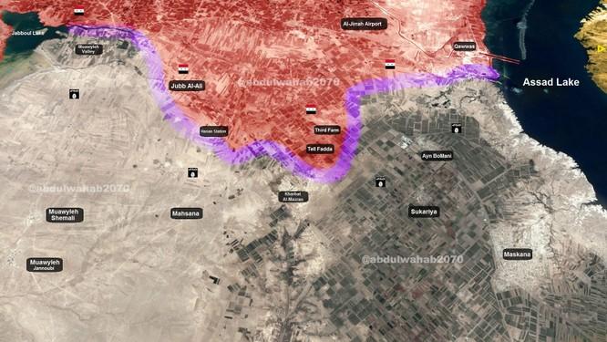 """""""Hổ Syria"""" áp sát sào huyệt cuối cùng của phiến quân IS tại đông Aleppo ảnh 1"""