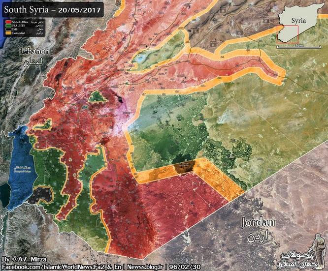 Quân đội Syria đập tan cuộc tấn công thánh chiến ở Sweida ảnh 1
