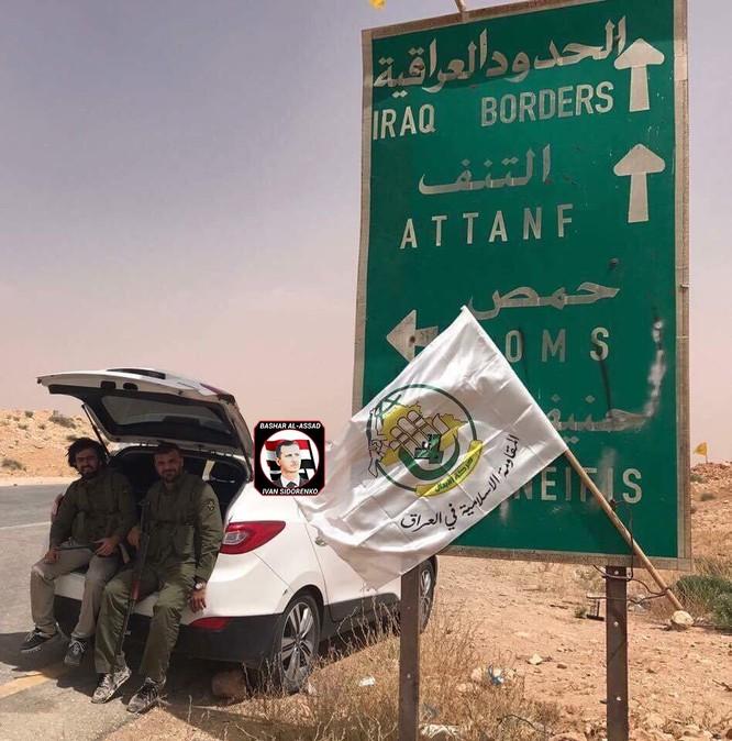 Quân Assad đồng loạt tấn công tam giác biên giới Iraq, Jordan, Syria ảnh 1