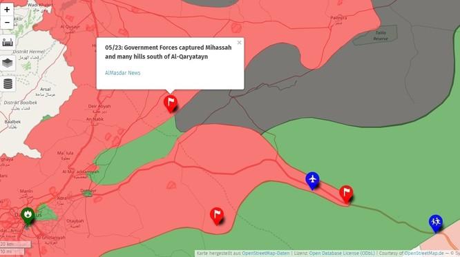 Quân đội Syria nhất loạt đánh dẹp IS trên các chiến trường then chốt ảnh 1