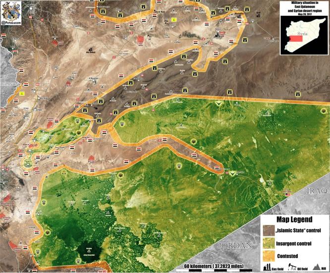 Chiến sự Syria: Quân Assad tấn công IS trên khắp các chiến tuyến (video) ảnh 1