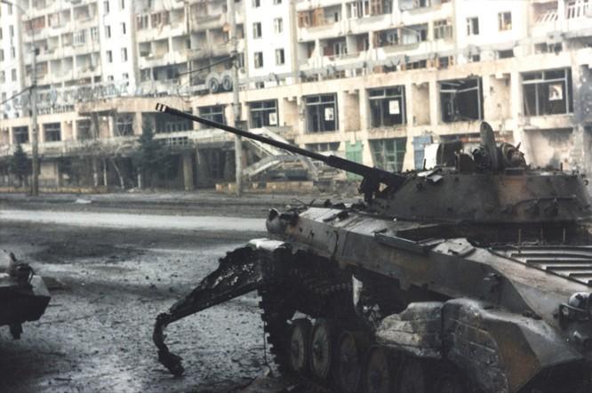 San phẳng mục tiêu, quân đội Nga hủy diệt phiến quân Chechnya ảnh 6