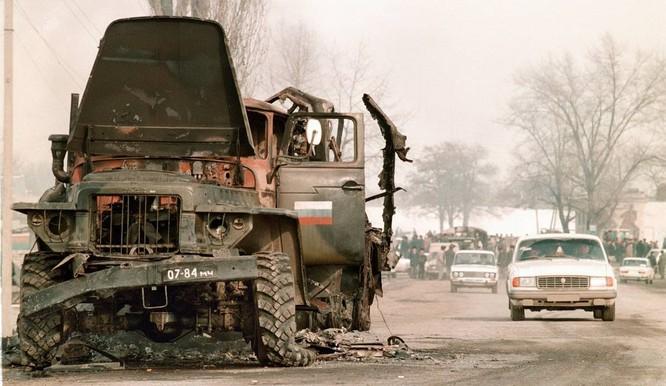 San phẳng mục tiêu, quân đội Nga hủy diệt phiến quân Chechnya ảnh 1