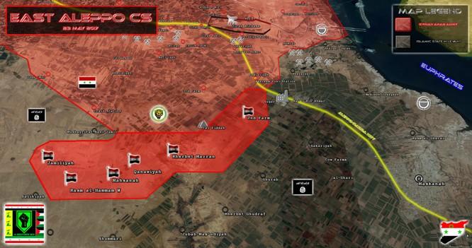 """""""Hổ Syria"""" đè bẹp IS, chiếm liên tiếp 6 cứ địa phiến quân ở Aleppo ảnh 1"""