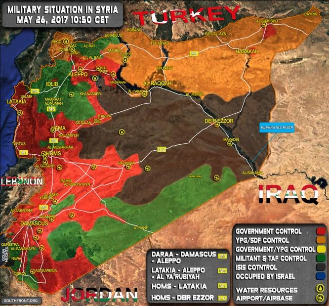 Quân đội Syria đột phá chiến trường, IS bắt đầu sụp đổ dây chuyền ảnh 1