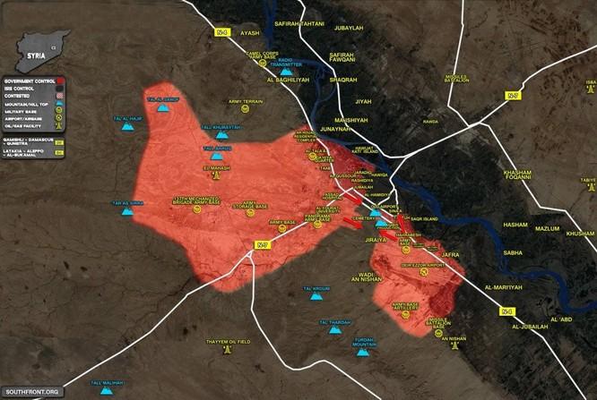 Chảo lửa Deir Ezzor: Hơn 10.000 phiến quân IS mất mạng trước quân đội Syria ảnh 1