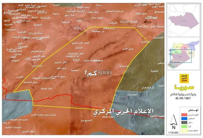 Quân đội Syria đột phá chiến trường, IS bắt đầu sụp đổ dây chuyền ảnh 3