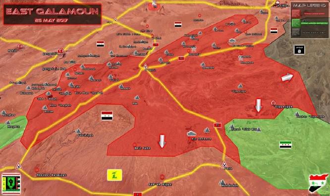 Trực thăng Nga săn diệt IS, quân đội Syria giải phóng 3.500 km2 nam Palmyra ảnh 3