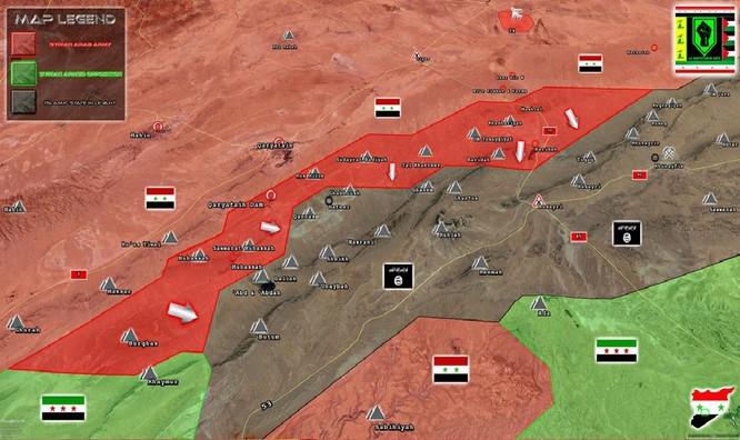 Trực thăng Nga săn diệt IS, quân đội Syria giải phóng 3.500 km2 nam Palmyra ảnh 1