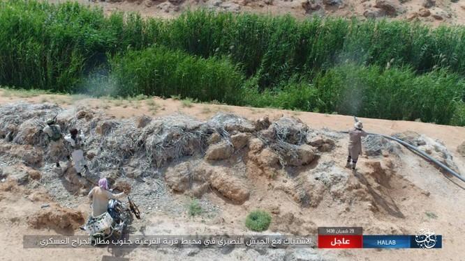 """""""Hổ Syria"""" đè bẹp IS, chỉ còn cách thị trấn cửa ngõ Raqqa 3km (video +ảnh) ảnh 6"""