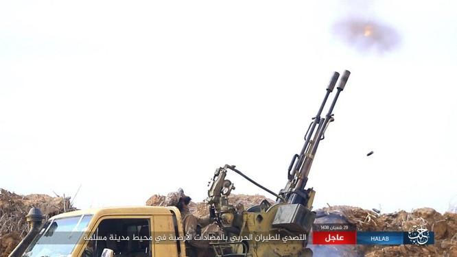 """""""Hổ Syria"""" đè bẹp IS, chỉ còn cách thị trấn cửa ngõ Raqqa 3km (video +ảnh) ảnh 7"""