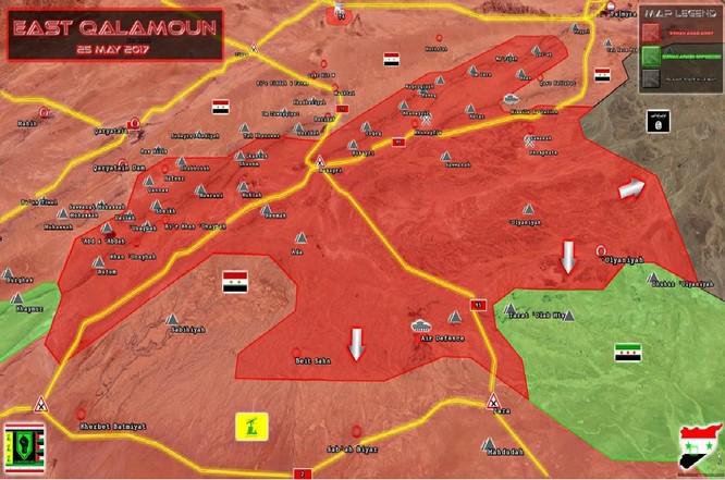 Quân đội Syria đè bẹp IS, giải phóng cứ địa phiến quân ở ngoại vi Palmyra ảnh 3