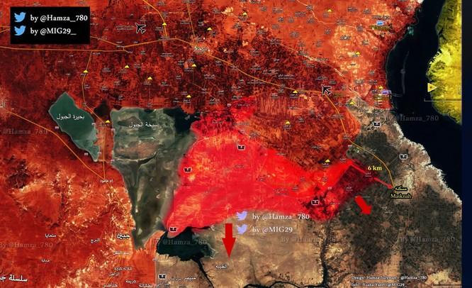 """Lực lượng """"Hổ Syria"""" tấn công vũ bão, phiến quân IS lâm nguy ảnh 1"""