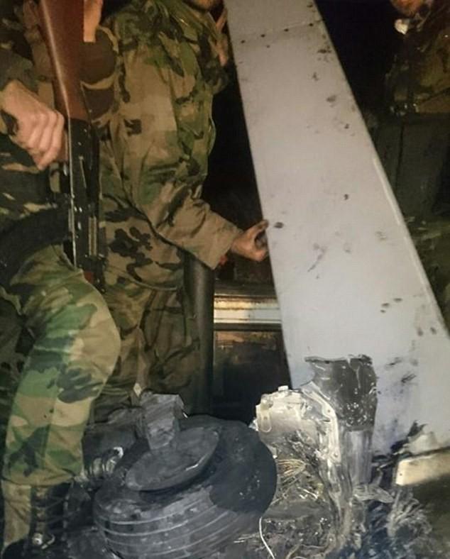 """Quân đội Syria từng bắn hạ """"Quái thú"""" Mỹ ở Latakia ảnh 2"""