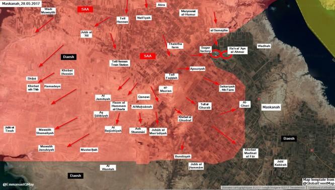 """""""Hổ Syria"""" đánh chiếm chốt IS, bóp nghẹt cứ điểm phiến quân ở Aleppo (video) ảnh 2"""
