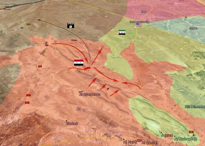 Quân đội Syria đánh bật FSA, chiếm địa bàn phiến quân ngoại vi Damascus (video) ảnh 1