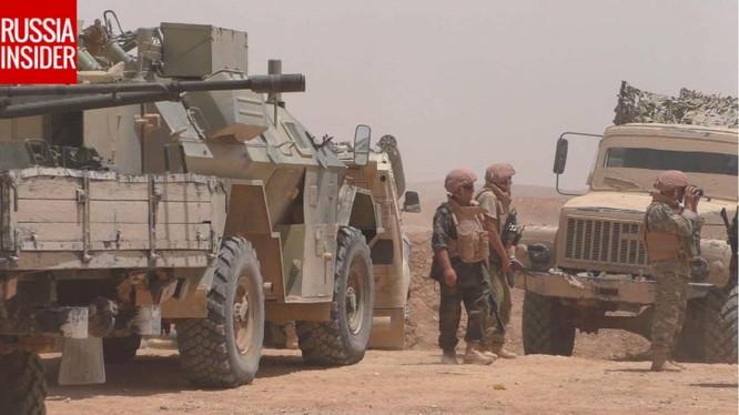Đặc nhiệm Nga xung trận cùng quân đội Syria truy sát IS ở Palmyra ảnh 1