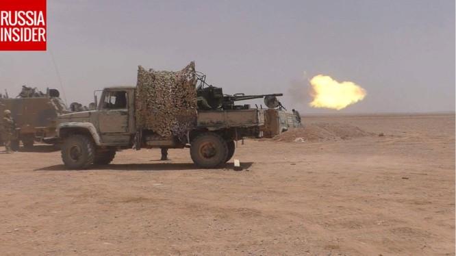 Đặc nhiệm Nga xung trận cùng quân đội Syria truy sát IS ở Palmyra ảnh 2