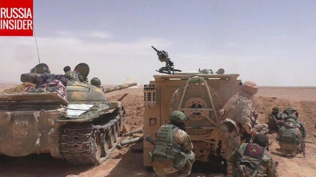 Đặc nhiệm Nga xung trận cùng quân đội Syria truy sát IS ở Palmyra ảnh 5