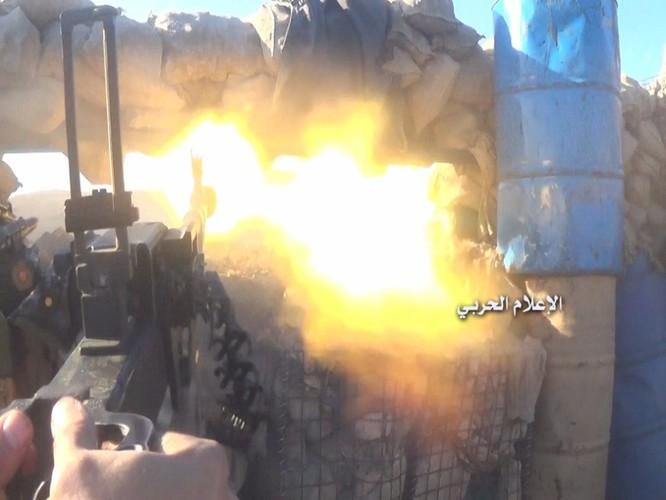 Quân đội Syria phục kích diệt phiến quân gần biên giới Lebanon (video) ảnh 1