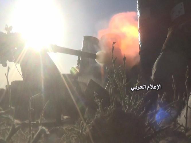 Quân đội Syria phục kích diệt phiến quân gần biên giới Lebanon (video) ảnh 3