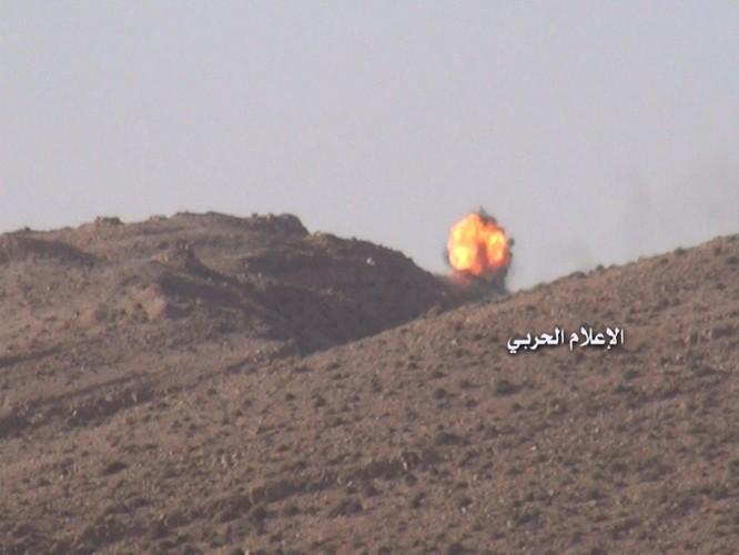 Quân đội Syria phục kích diệt phiến quân gần biên giới Lebanon (video) ảnh 6