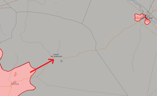 Không quân, đặc nhiệm Nga dọn đường cho quân đội Syria tiến về Deir Ezzor ảnh 15