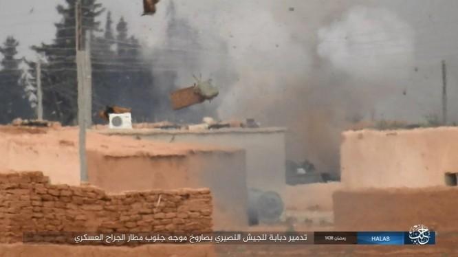 """2.000 tay súng IS mất mạng trước """"Hổ Syria"""" tại đông Aleppo (video) ảnh 7"""