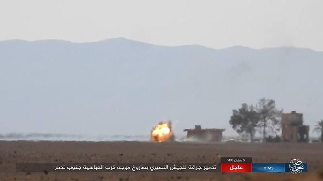Nga trút sấm sét vào IS, giáng trả thất bại của quân đội Syria ảnh 1