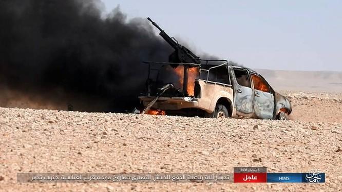 Nga trút sấm sét vào IS, giáng trả thất bại của quân đội Syria ảnh 3