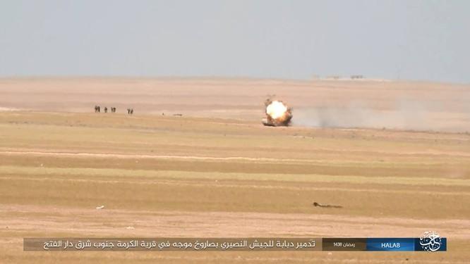 IS quyết tử chiến trong pháo đài cuối cùng ở Aleppo ảnh 1