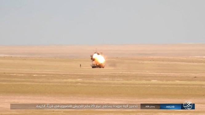 IS quyết tử chiến trong pháo đài cuối cùng ở Aleppo ảnh 4
