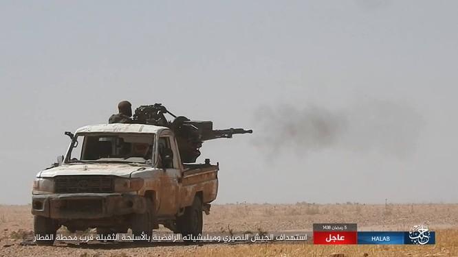 IS quyết tử chiến trong pháo đài cuối cùng ở Aleppo ảnh 11